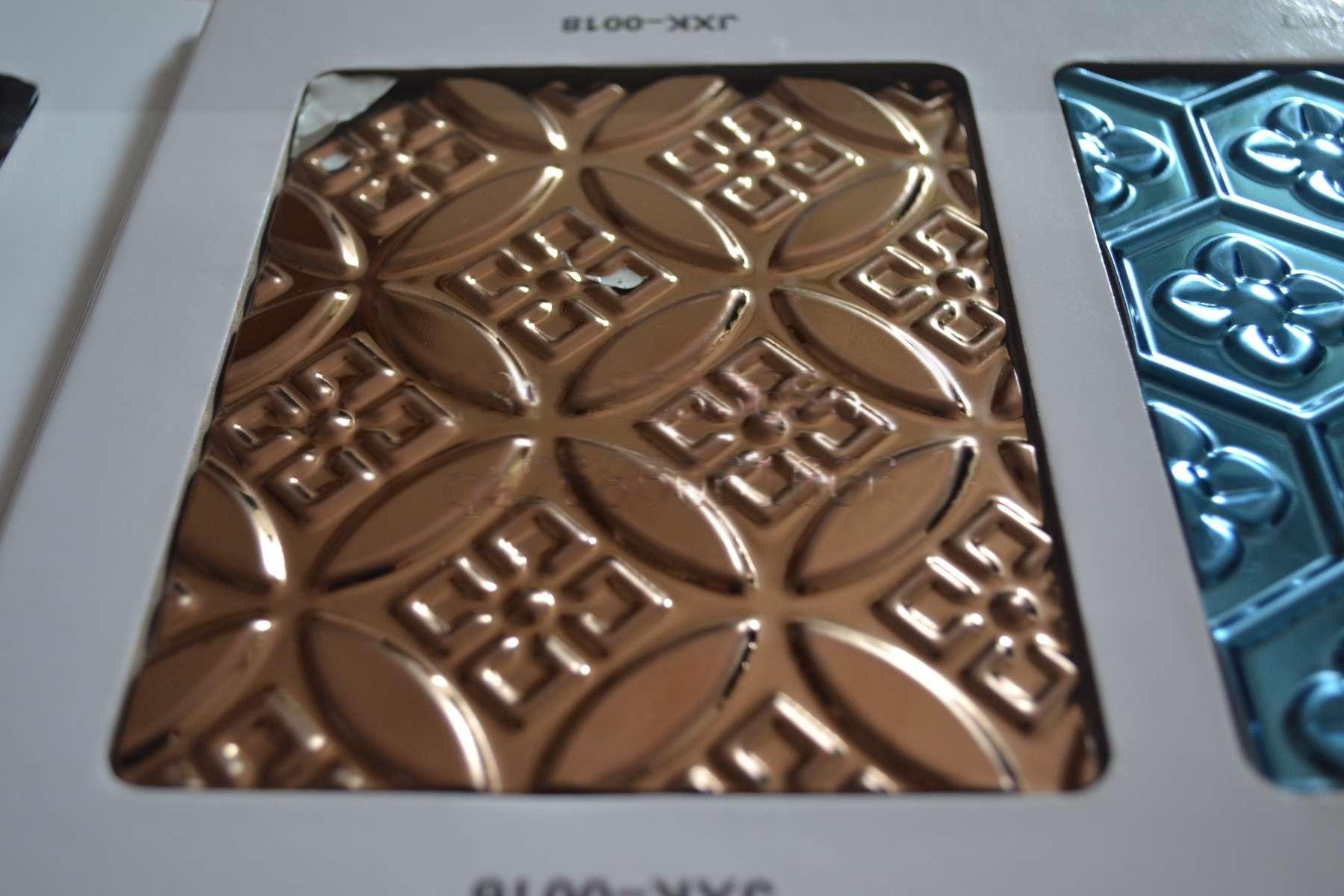 提供不锈钢板不锈钢管表面处理拉丝蚀刻镀色工厂7909405