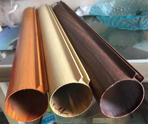 铝圆管厂家 木纹铝圆管 凸槽铝圆管.jpg