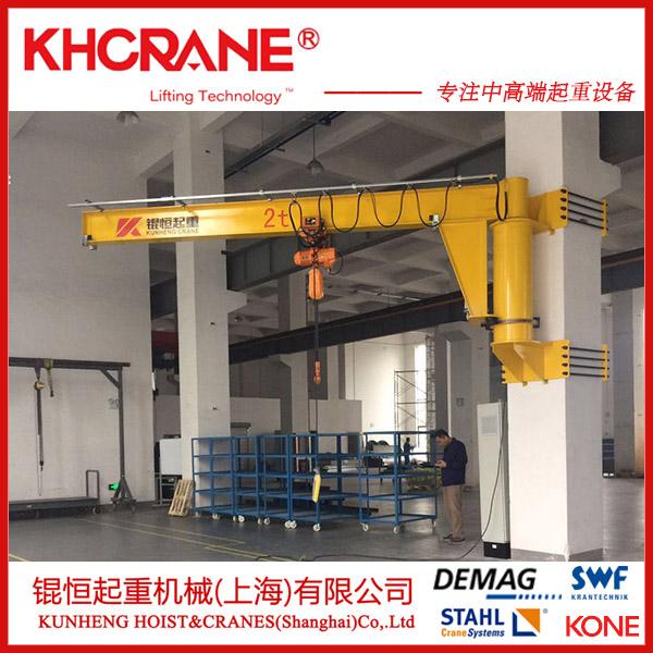 BZD工字钢旋臂吊 500kg电动悬臂起重机119575855