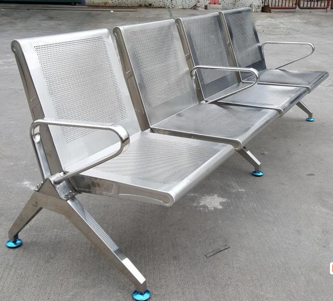 厂家直销304不锈钢排椅、行政大厅不锈钢公共排椅31636625