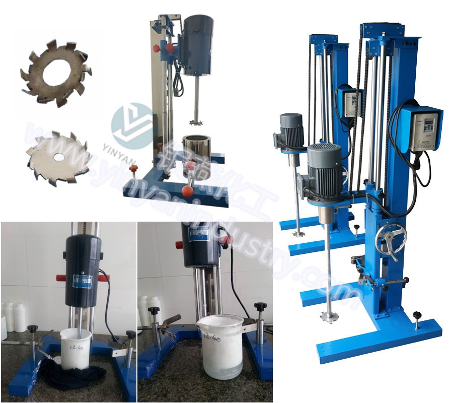 Lab scale disperser