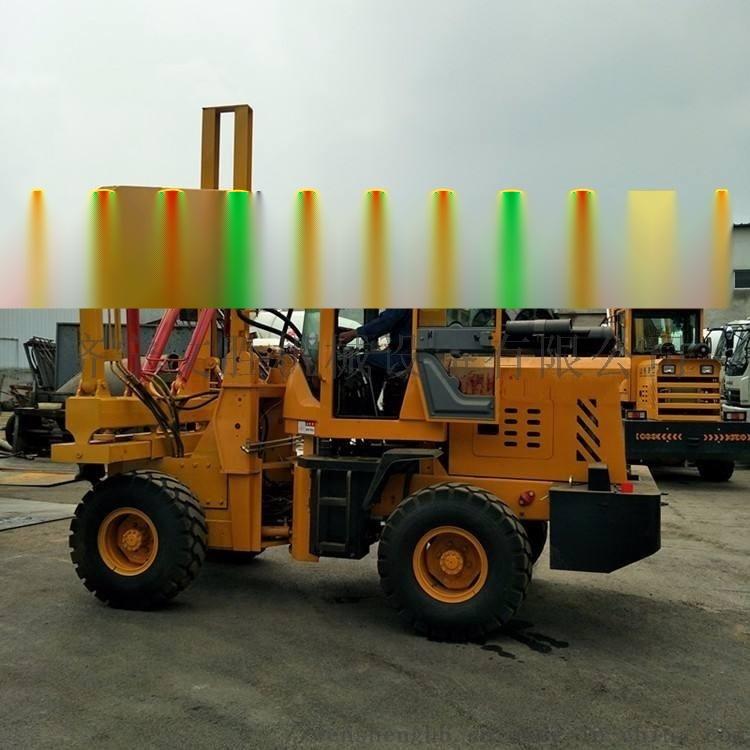 公路护栏打桩机 装载机式护栏钻孔机厂家760143462