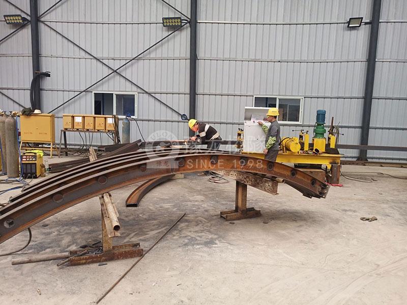 钢结构用WGJ250工字钢弯拱机厂家 液压冷弯拱机直销
