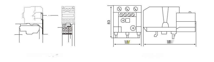 JR28-25 熱繼電器96143505