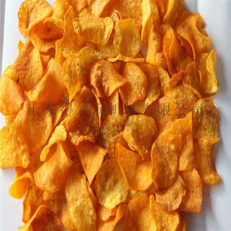 D5油炸红薯片生产线 红薯片油炸机 红薯片加工设备763960172