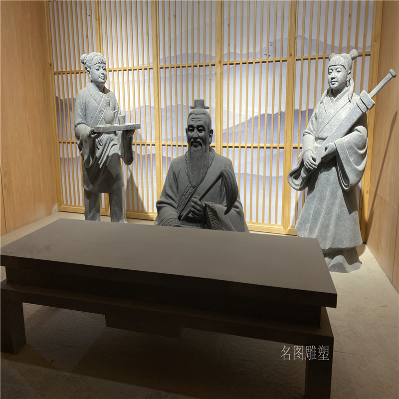 广场人物组合雕塑 玻璃钢情景人物雕塑139109685
