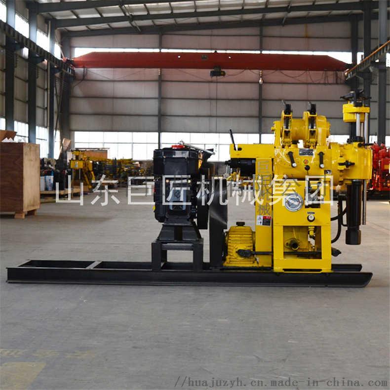 巨匠提供HZ-130Y百米勘探鑽機全液壓岩心鑽機817441712