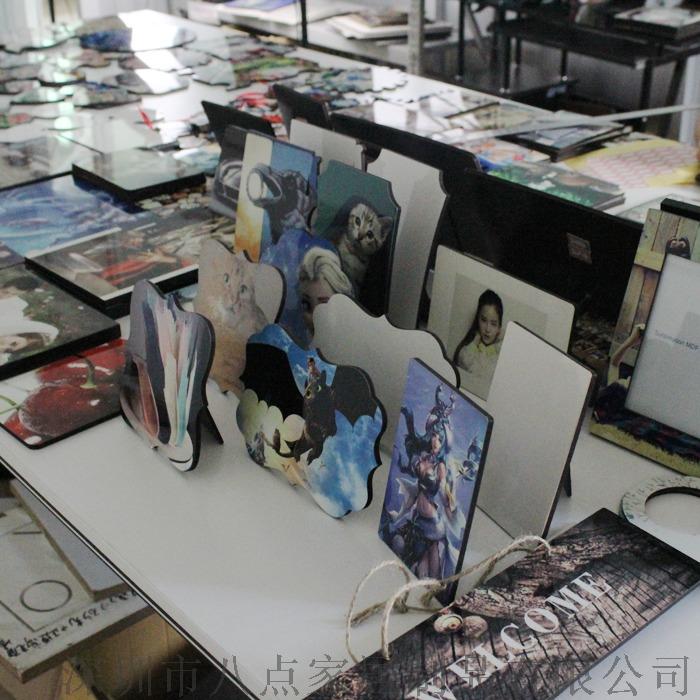 木質擺臺工藝品木版畫相板熱轉印圖案定製相框111754065