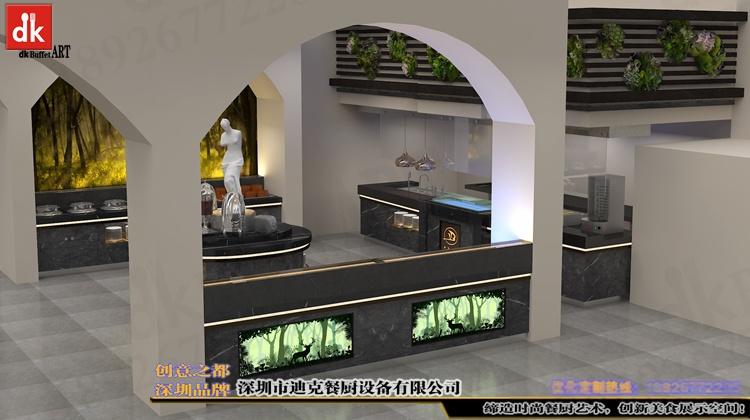 江西自助餐厅石英石自助餐台 整体餐厅餐台设计 广东专业设计酒店自助餐台 自助餐厅设计 酒店自助餐台图片布菲台 (1).jpg