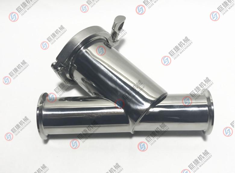 快装Y型过滤器 卫生级Y型过滤器 不锈钢过滤器39915805