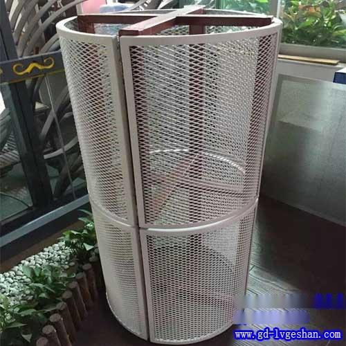 拉网板规格 造型铝网板 网格铝板