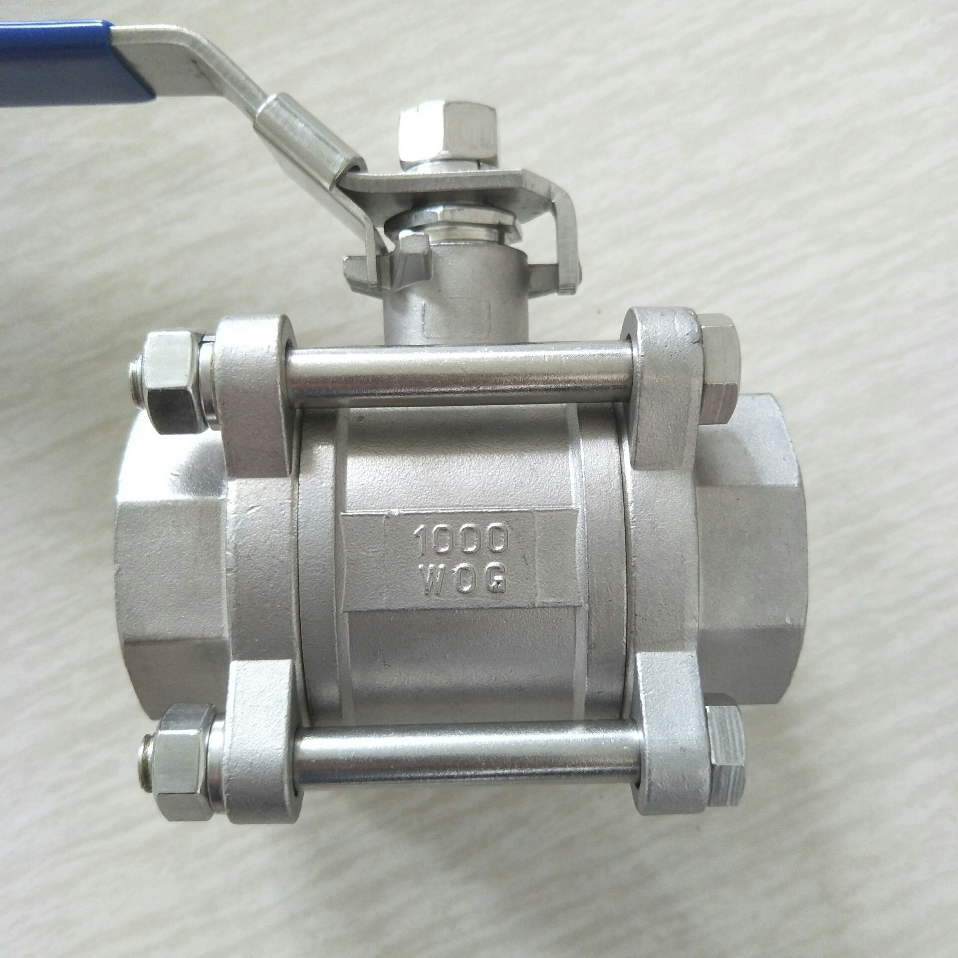 不锈钢三片式球阀 DN40 3PC球阀11/2寸810955072