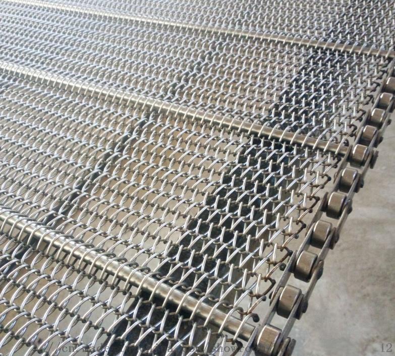 不锈钢网带链条式输送网带耐高温烘干机金属网带762409022