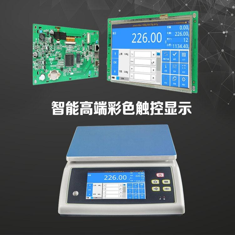 触摸屏智能电子秤解决方案之智能桌秤844858875