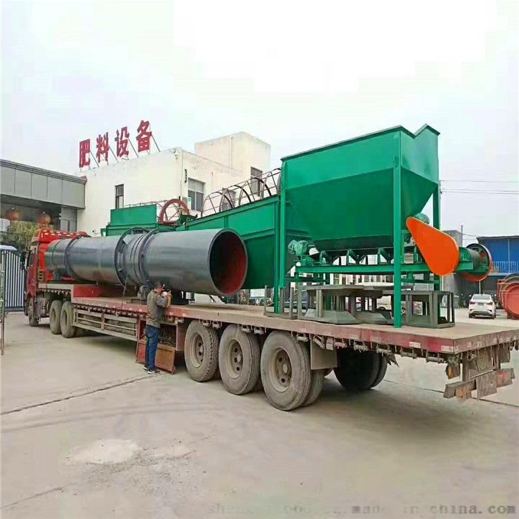 湖北猪粪生产颗粒有机肥生产线设备 厂家报价136256585