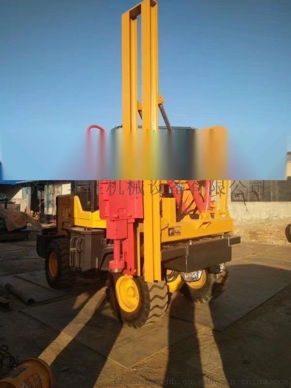 护栏立柱打桩机 公路护栏钻孔机760135902