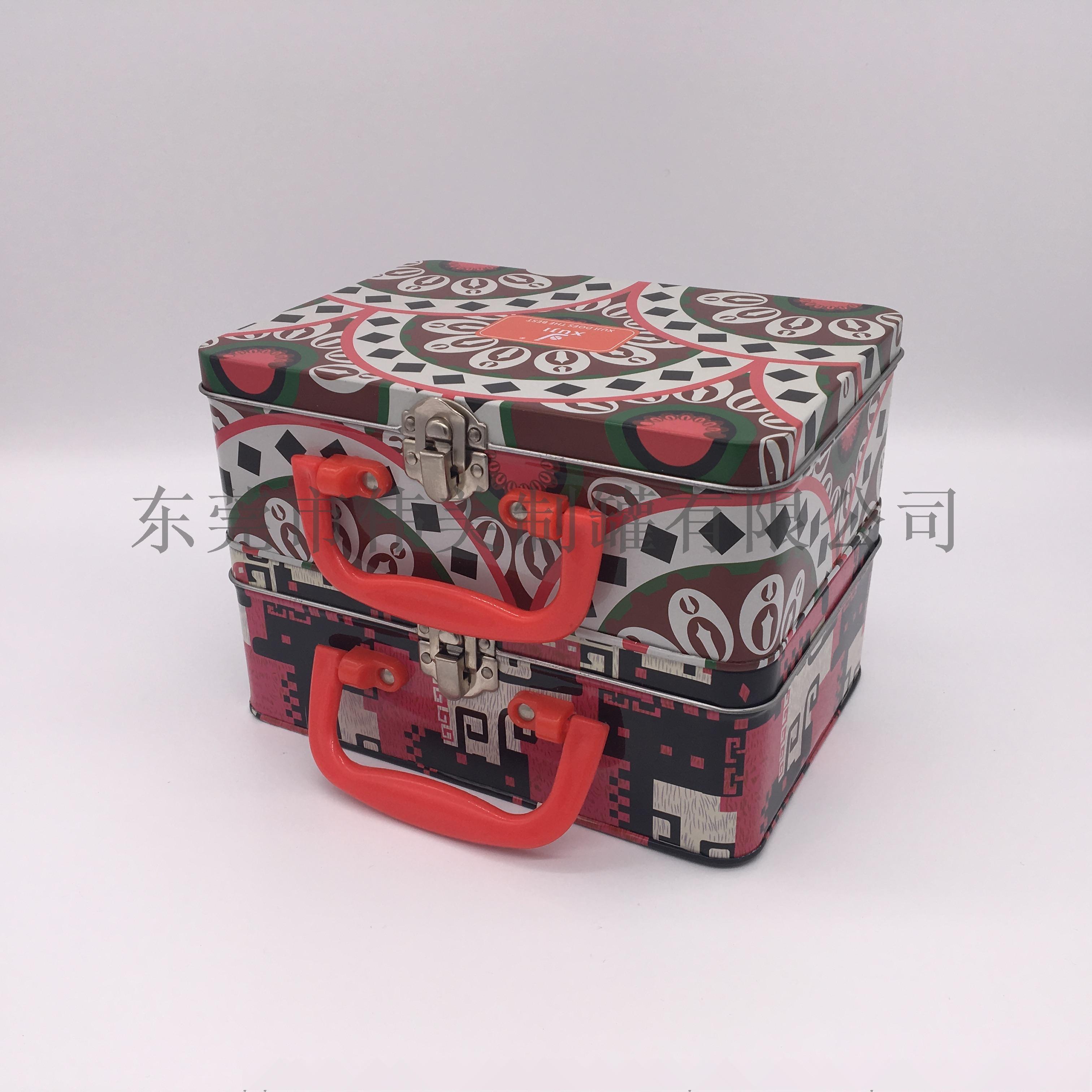 马口铁手挽罐午餐盒 马口铁手提盒780094852