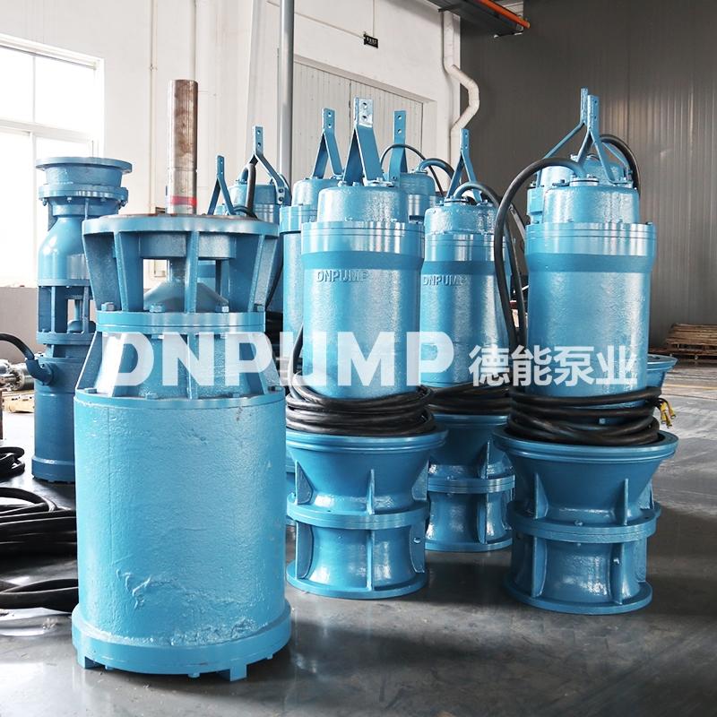 具有漂浮式排水作业的轴流泵822405542