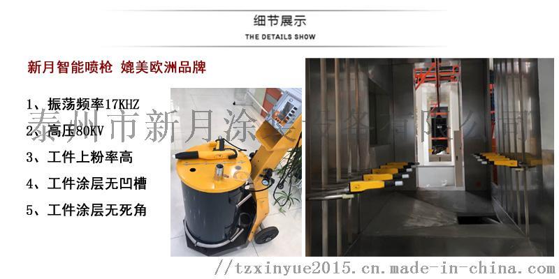 新月颠覆传统涂装工艺技术的铝材喷涂设备91529325
