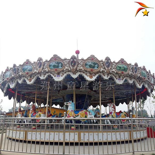 旋转木马游乐设备专业定制 公园儿童游乐设施厂家57479222