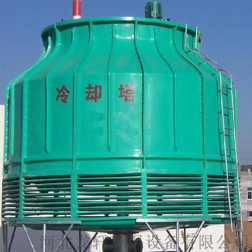 圆形逆流玻璃钢冷却塔  耐腐蚀抗氧化圆形冷却塔103352942