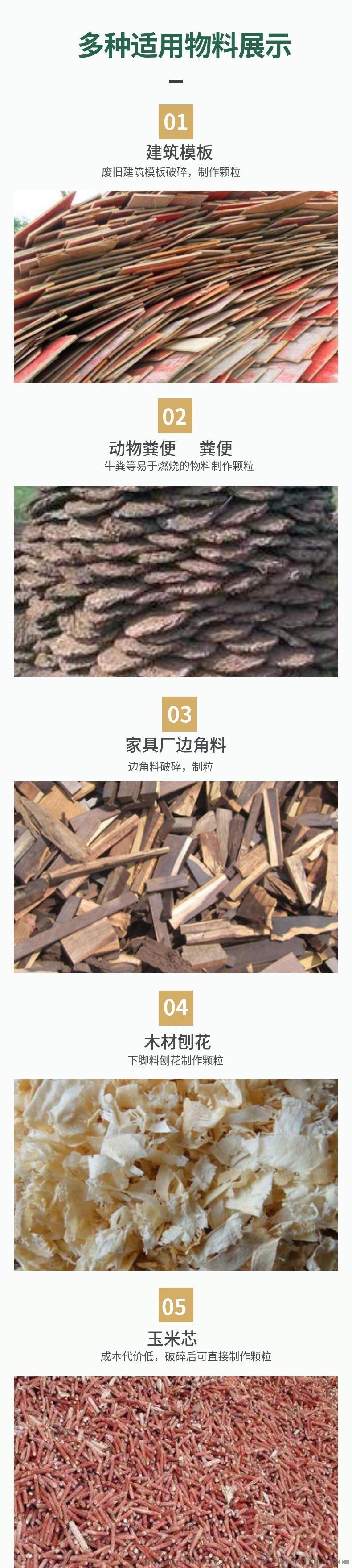 鋸末稻殼壓制 壓製顆粒成型木屑顆粒機 生物質顆粒機 可配置線114767402