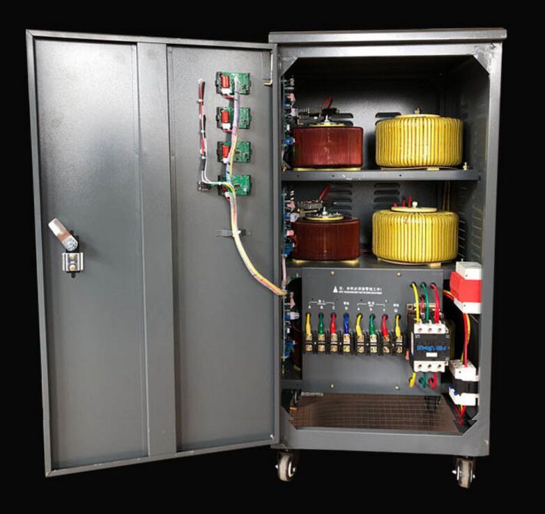 廠家直銷西安三相穩壓器20kw全自動380v穩壓電源產品圖