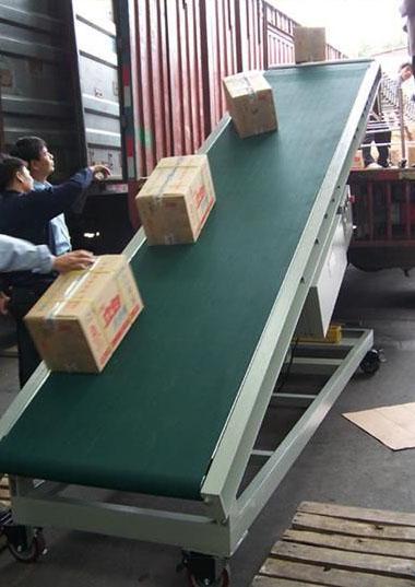 中山楼层卸货输送带,江门阁楼纸箱生产线813934325