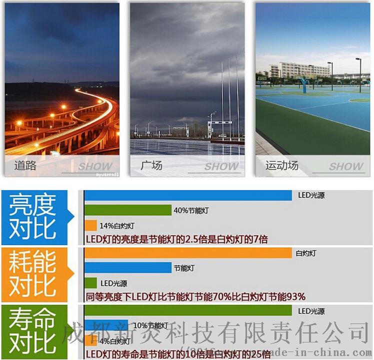 四川8米單臂路燈生產廠家8M50W90902115
