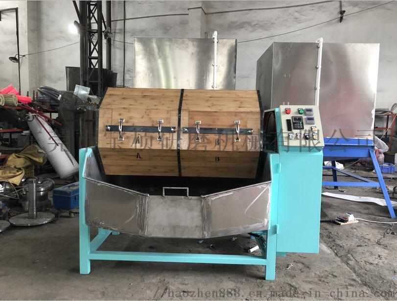 单双层干式木滚桶抛光机(研磨机、抛磨机、光饰机)835350085