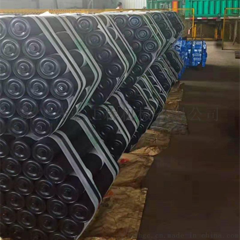 133上槽形托辊 洗煤厂胶带机托辊 耐用的槽形托辊811235482