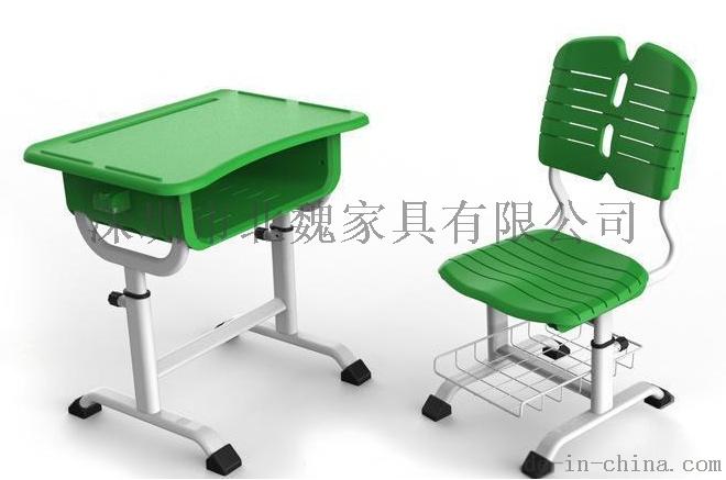 abs单人小学生塑料升降课桌椅厂家96078485