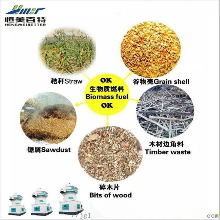 定制木屑颗粒机时产1-1.5吨秸秆颗粒机生产线73107172