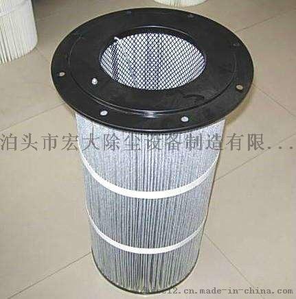 覆膜防静电除尘滤芯 炼钢厂除尘滤筒 除尘滤芯852475642