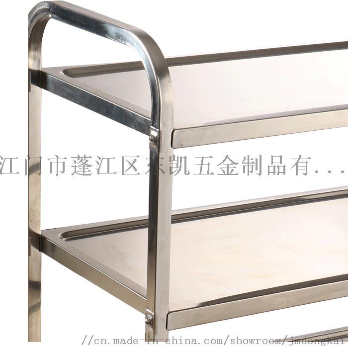 不锈钢方管餐车酒店小推车送餐车生产厂家106172765