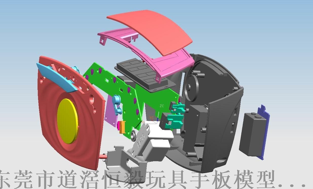 显示器抄数设计,广州手板抄数,中山塑胶3D抄数81662385