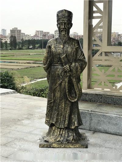 大型玻璃鋼系列仿銅人物雕塑廠家806973725