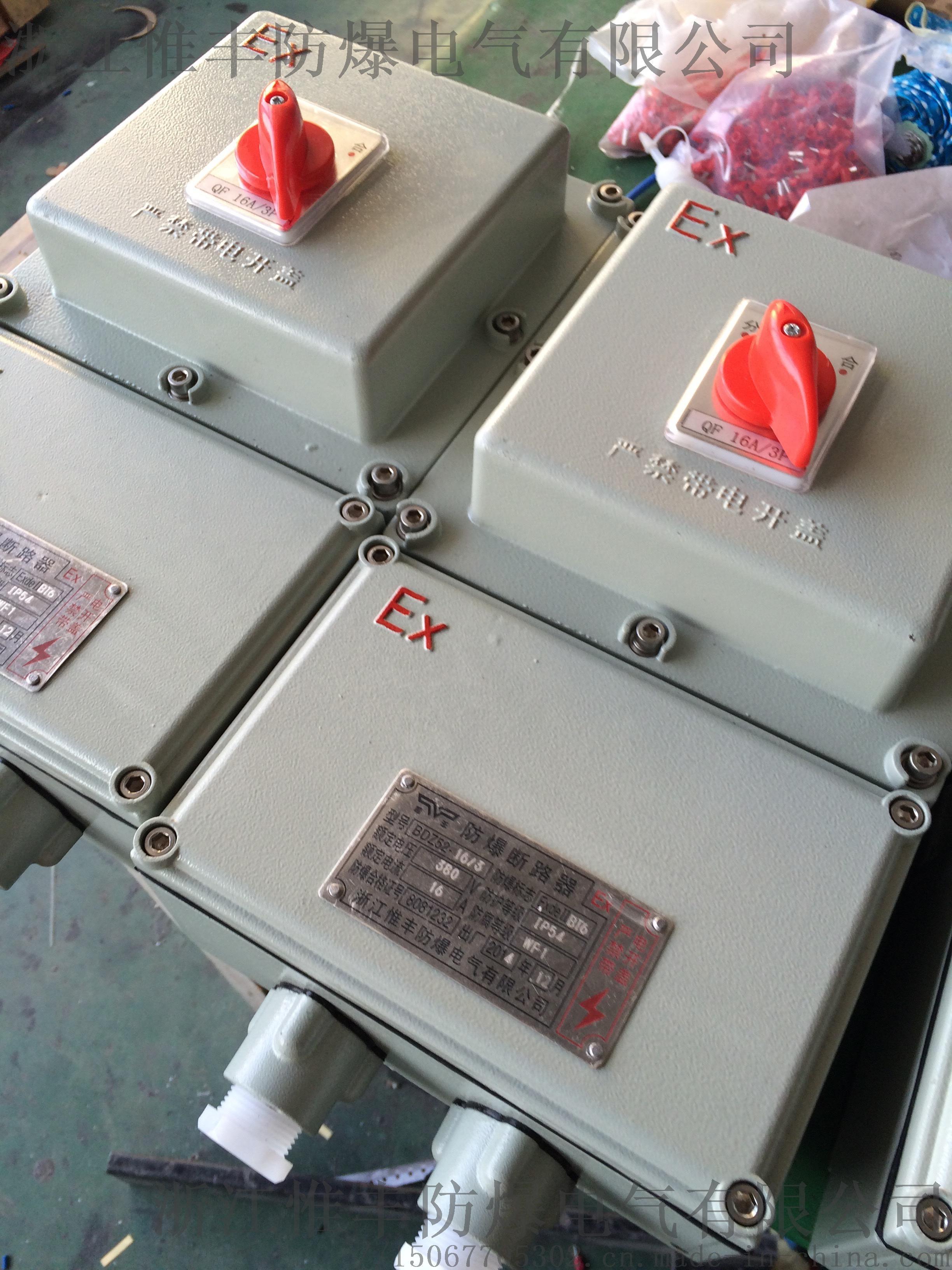 BDZ52防爆断路器16A32A防爆空气开关断路器827024935