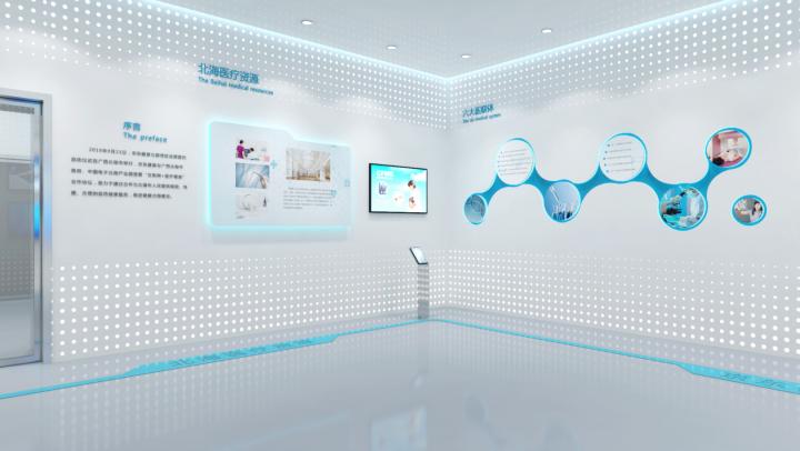 郑州企业多媒体展厅装修设计公司,企业展厅装修标准134539022