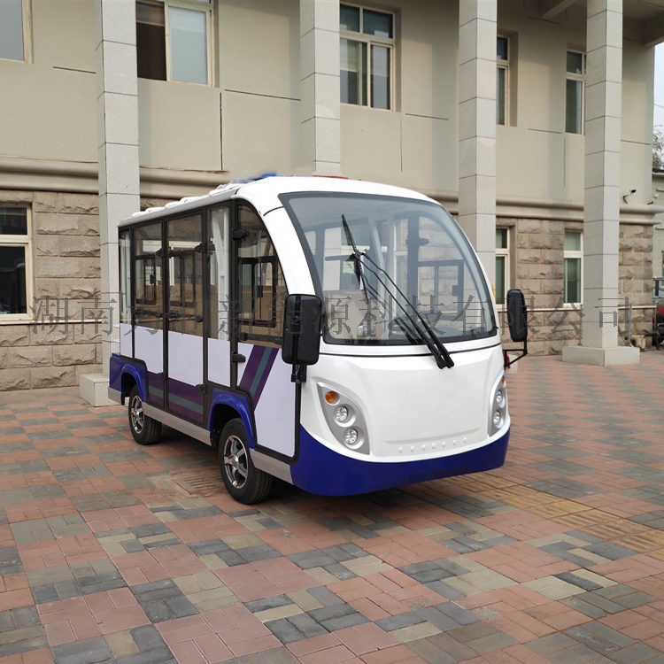 8座封闭式电动观光车,多功能电动四轮车812779052