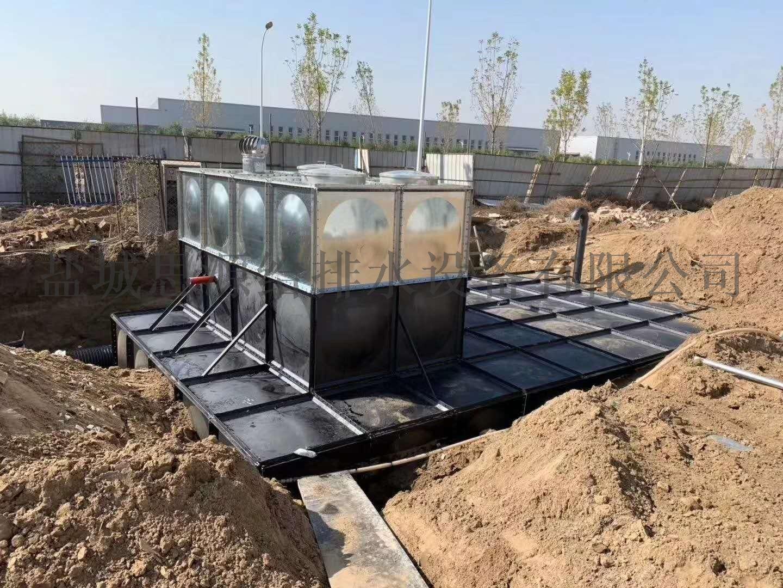 智慧型裝配式BDF箱泵一體化消防給水泵站132971185