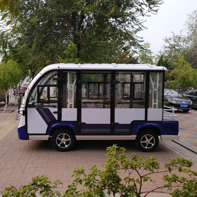 8座封闭式电动观光车,多功能电动四轮车812779032