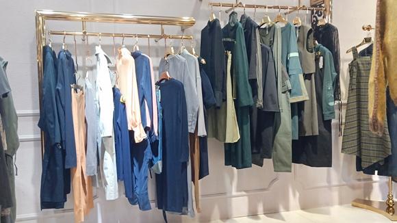 上海设计师原创米梵&张莉春季品牌女装低折扣直播  92602775