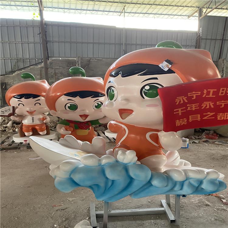 广州玻璃钢动漫人物雕塑 游戏角色雕塑147766755