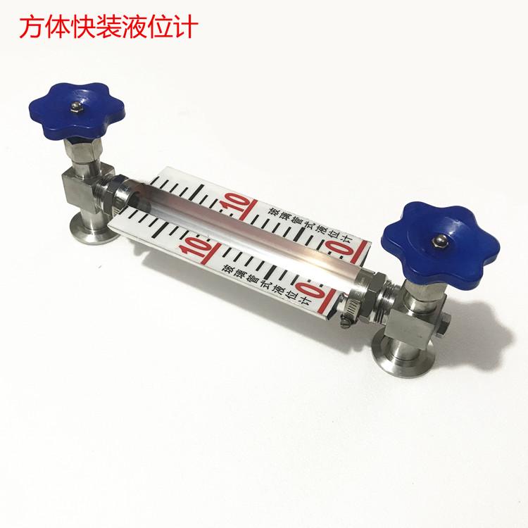 快装液位计 带刻度水箱液位计  不锈钢水箱液位计150078295