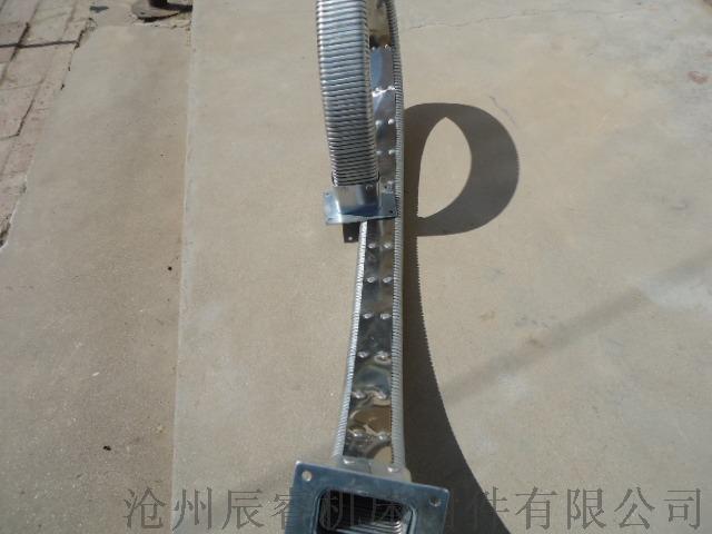52*102矩形金属软管 沧州嵘实矩形金属软管872116555