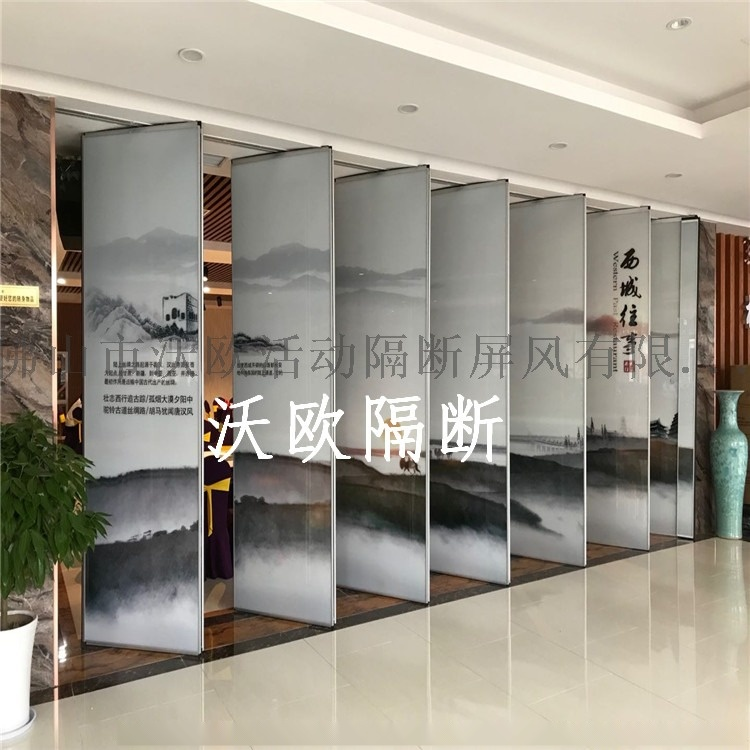 decorative glass aluminium soundproof wall partition for office_副本.jpg