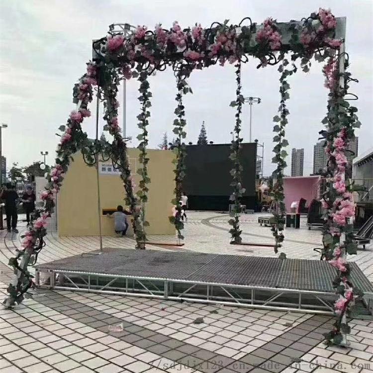 水幕秋千厂家生产定制智能互动设备瀑布秋千120080032