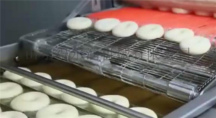 諸城 甜甜圈油炸機 甜甜圈油炸設備 翻轉油炸生產線61375652