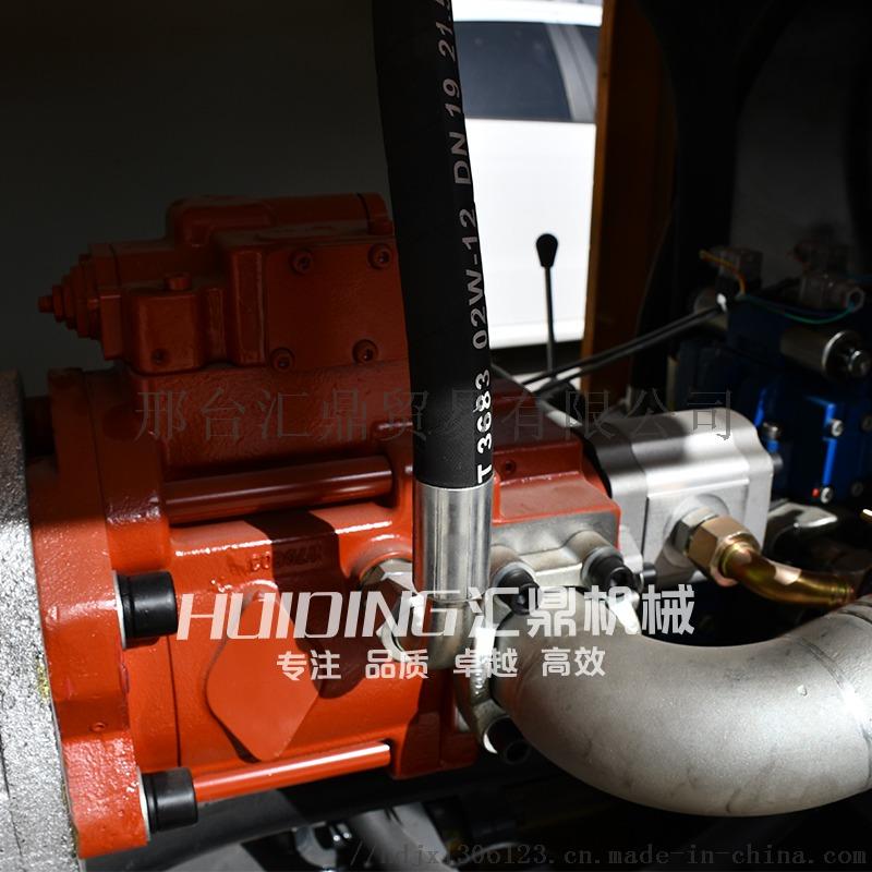 二次结构浇筑泵20型细石砂浆输送泵上料机斜式863727422